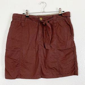 Free People Rusty NWT A-Line Mini Skirt Women's 6